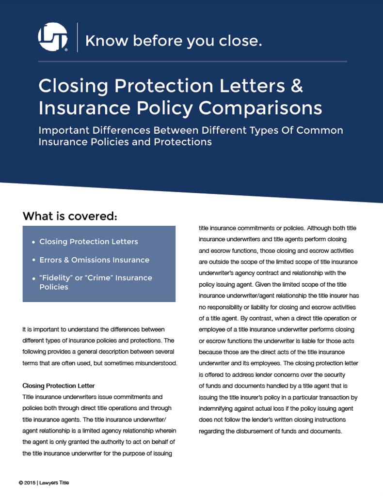 closing protection letter new closing protection letter cover letter examples 1129